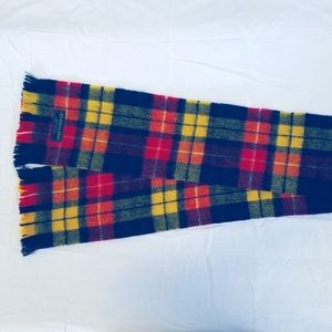 Christian Dior Scarf with Glen Cairn Merino Wool
